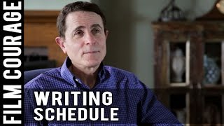 How Often Does A Professional Screenwriter Write? by Gary Goldstein