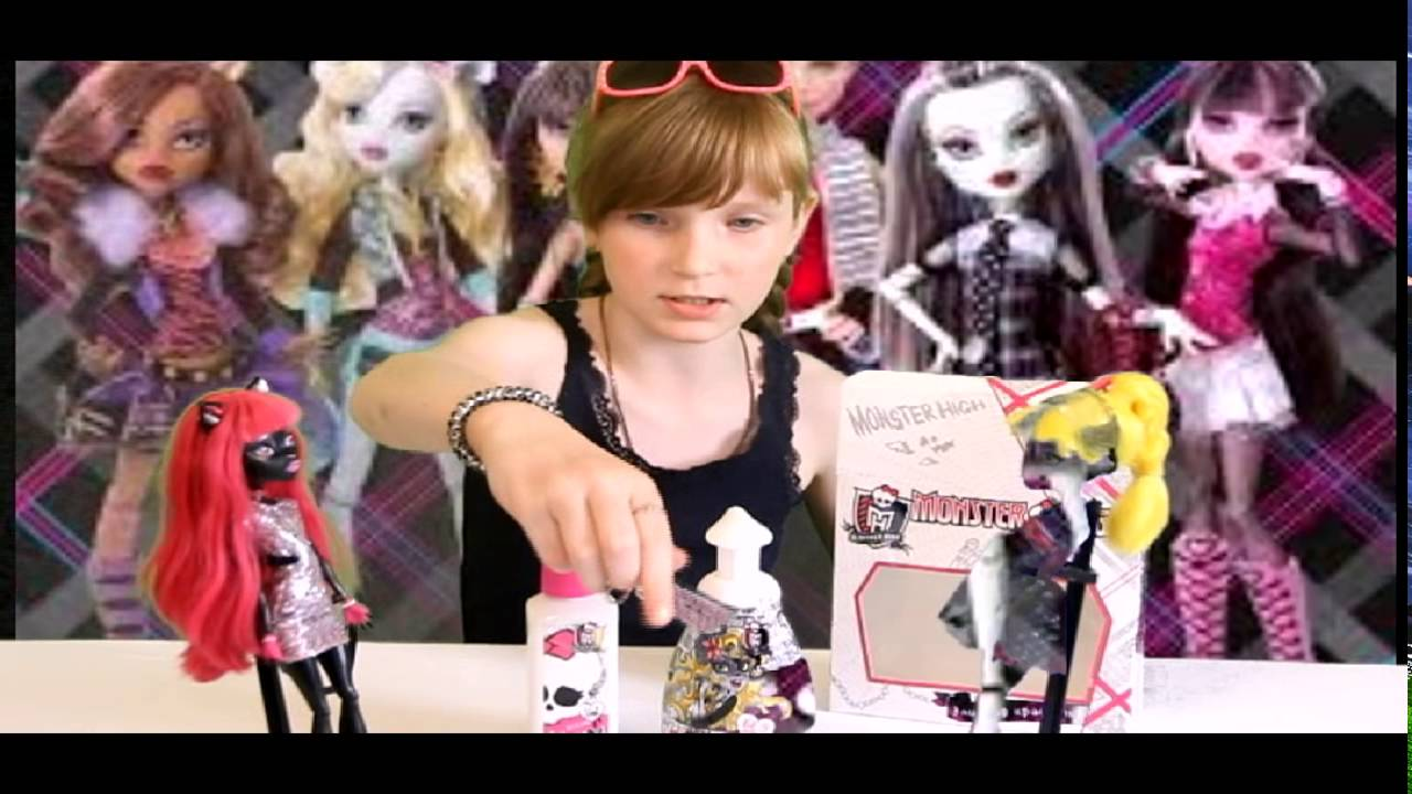 Купить набор косметики монстер хай - YouTube