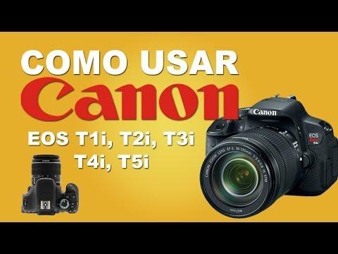 Como Usar Sua Camera DSLR Canon