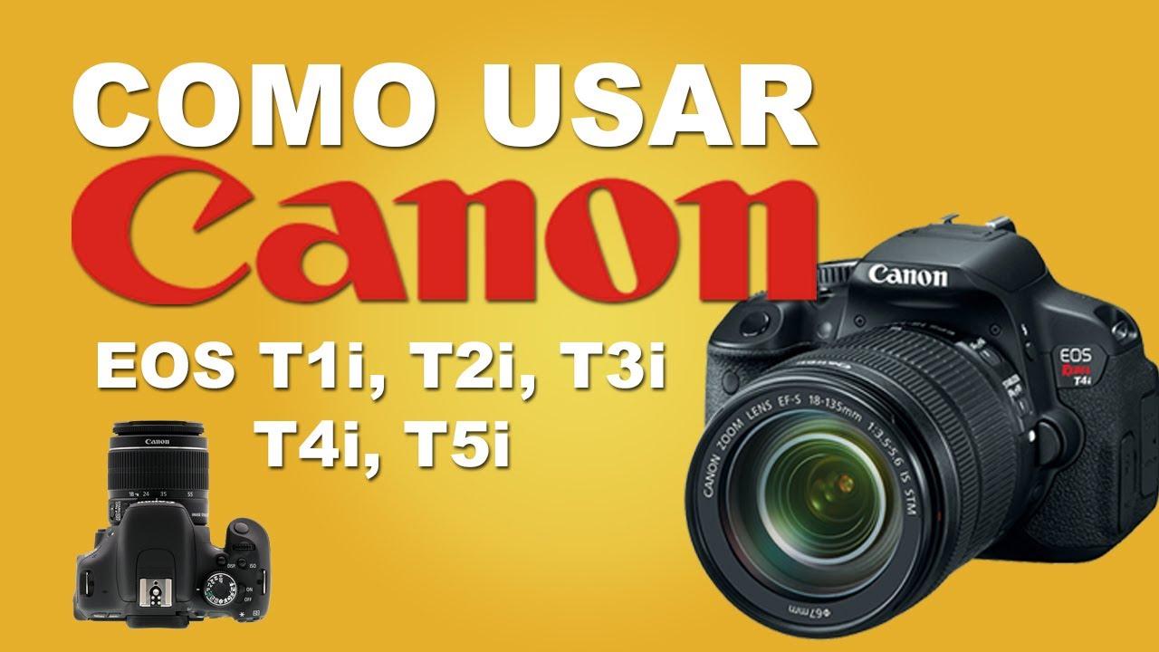 como usar sua camera dslr canon youtube rh youtube com Canon T1 Specs Camera Canon EOS Rebel T1