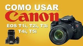 Como Usar Sua Camera DSLR Canon(Nesse video mostro como se usar uma camera DSLR Canon T1i, T2i, T3, T3i, T4i, T5i de entrada, o que sao os botoes e como utiliza-los. facebook ..., 2013-11-30T01:44:51.000Z)