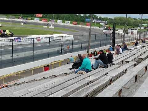 ISMA Super Modifieds Lancaster Speedway 2018 practice