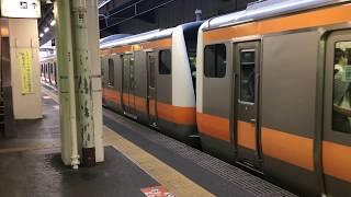 青梅線 E233系 立川発車