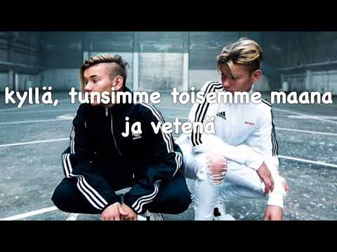 Marcus & Martinus - To dråper vann finnish lyrics