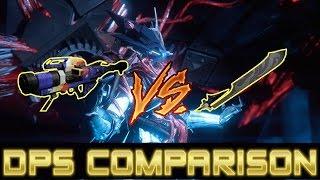 Destiny DPS Comparison: Warpath vs Dark Drinker