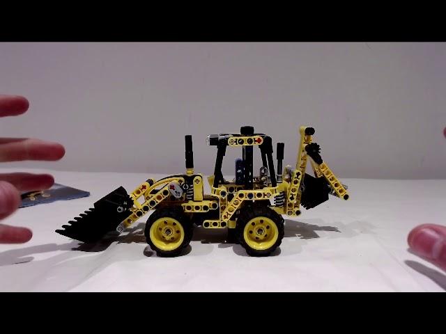 Mini aber besser als der größte, der Mini-Baggerlader (42004) von Lego