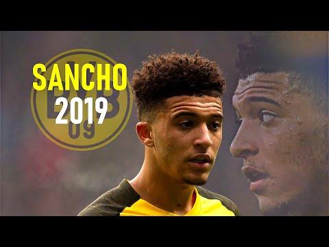 Jadon Sancho 2019 - Breakthrough Season - Crazy Dribbling Skills Goals & Assists - Borussia Dortmund