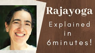 Rajayoga – Explained in 6 minutes! | BK Maureen Goodman | BrahmaKumaris Godlywood Studio