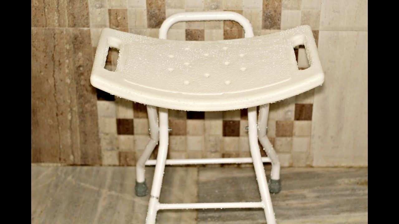 How To Use Shower Chair - YouTube