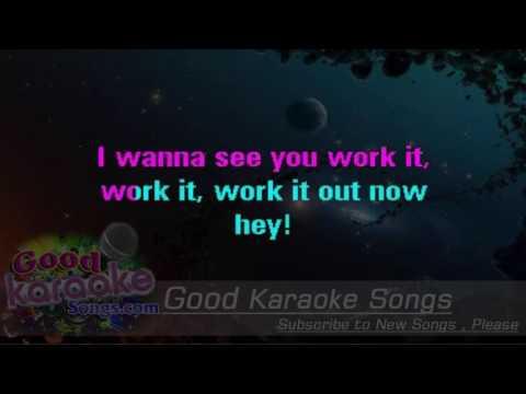 The Boy Does Nothing -  Aleshia Dixon (Lyrics Karaoke) [ goodkaraokesongs.com ]