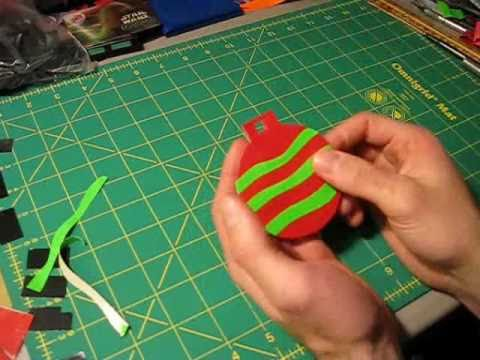 - How To Make Duct Tape Christmas Ornaments - YouTube
