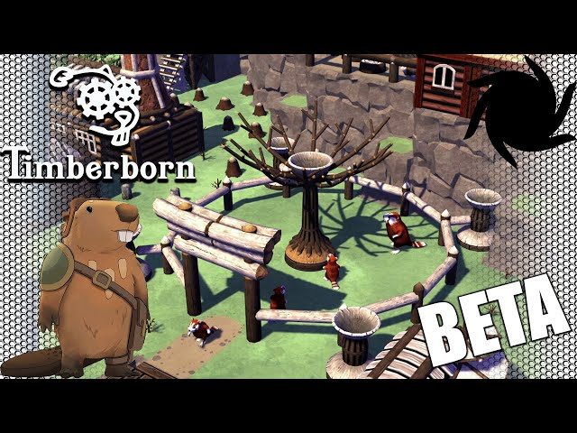 Timberborn Beta - Eager Beavers - The Temple