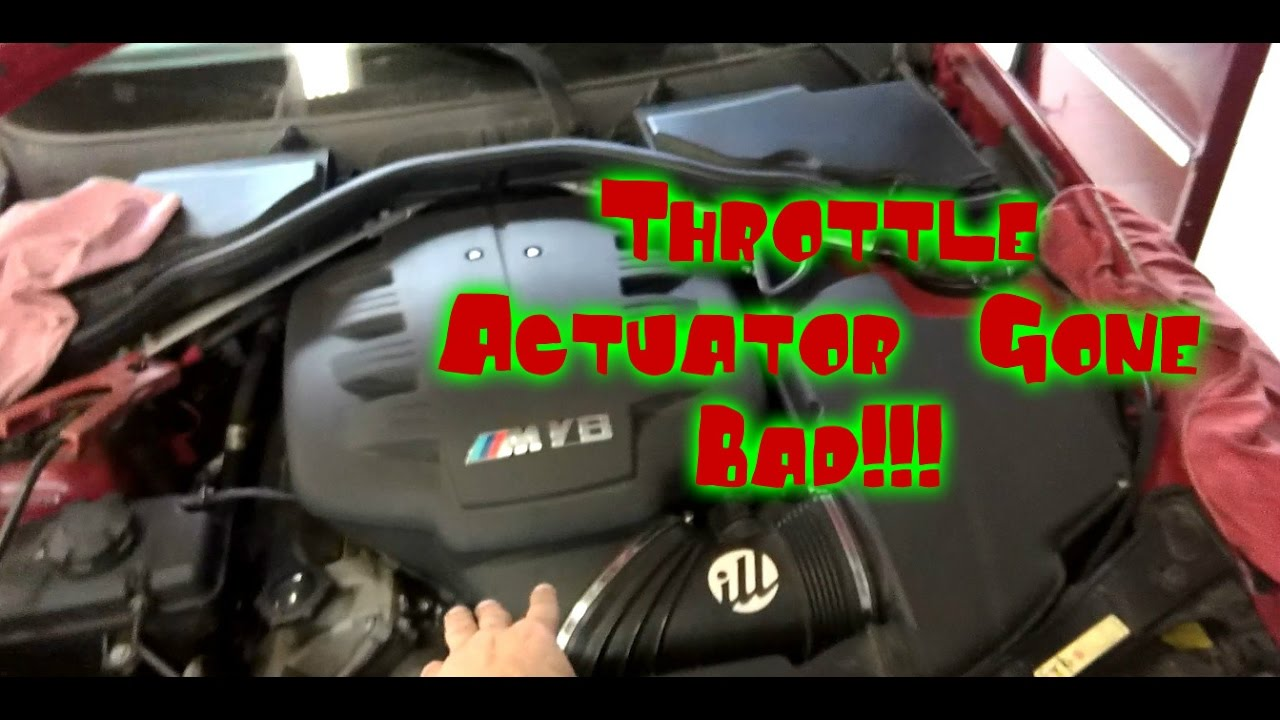 2008 BMW M3 Replacement of throttle actuator motor