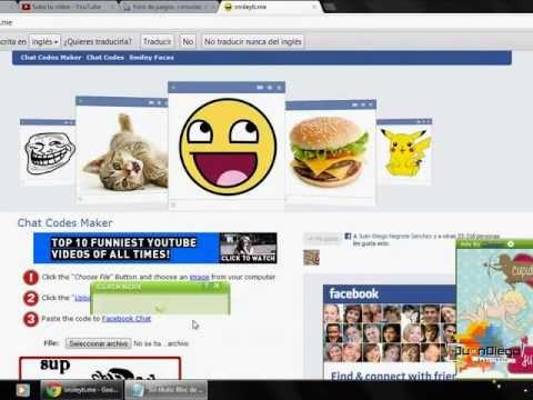 Como Poner Imagenes En El Chat Del Facebook