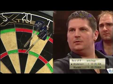 Gary Anderson vs Scott Waites (Zuiderduin Masters Final 2008 BDO)