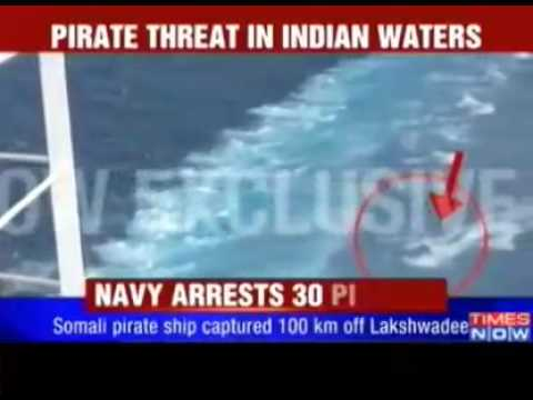 Indian forces capture another pirate ship   Video   The Times of India