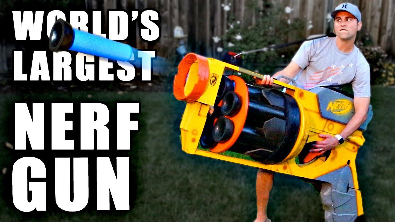 Most Powerful Nerf Gun Ever