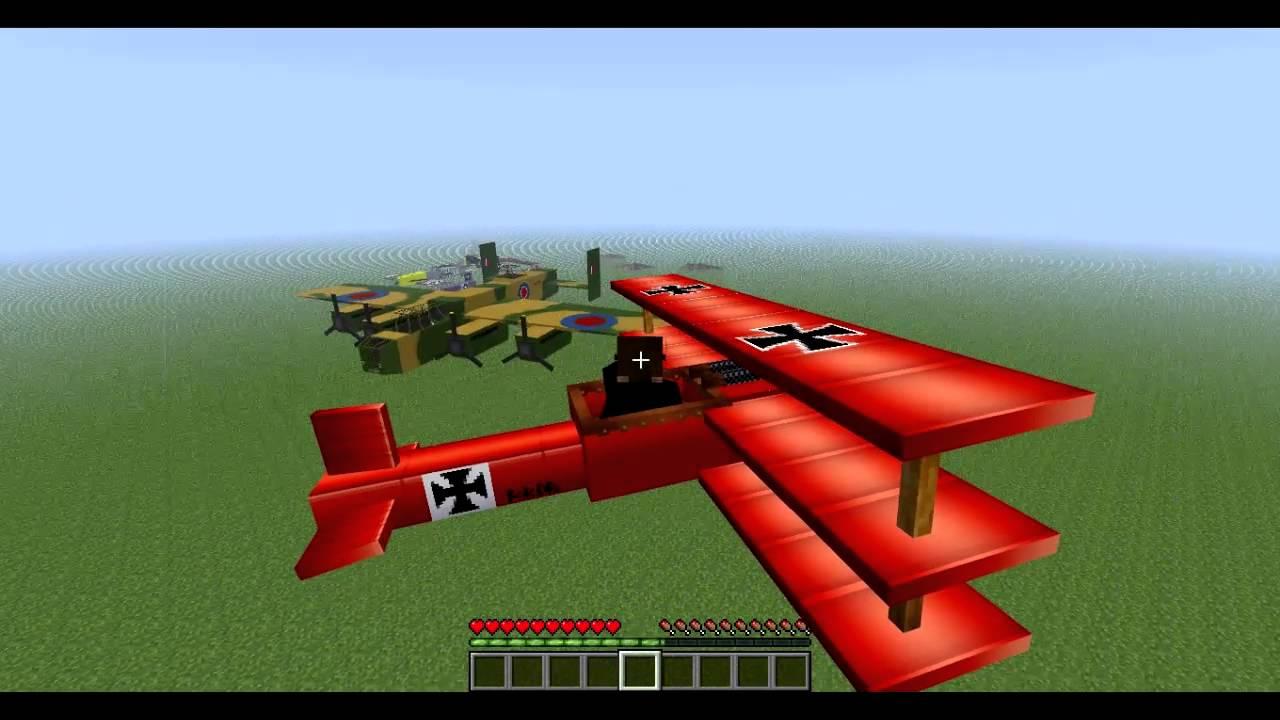 Скачать мод летай на своих постройках aircraft