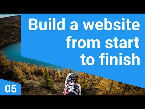 Build A Responsive Website Tutorial 5 - Creating A Photoshop Grid