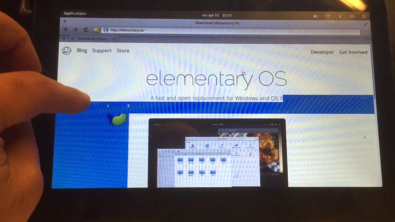 ELEMENTARY LINUX full install on X86 TABLET - Laptop or PC - 2015