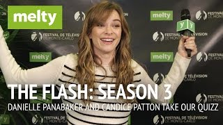Danielle Panabaker and Candice Patton Take Our Tough Flash Quizz