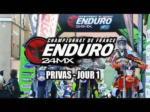 Enduro - Privas - Résumé Samedi