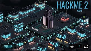 Hackme Game 2 Android - Infection Game Strategy Gameplay ᴴᴰ