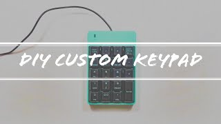 DIY Custom Keypad for Digital Art