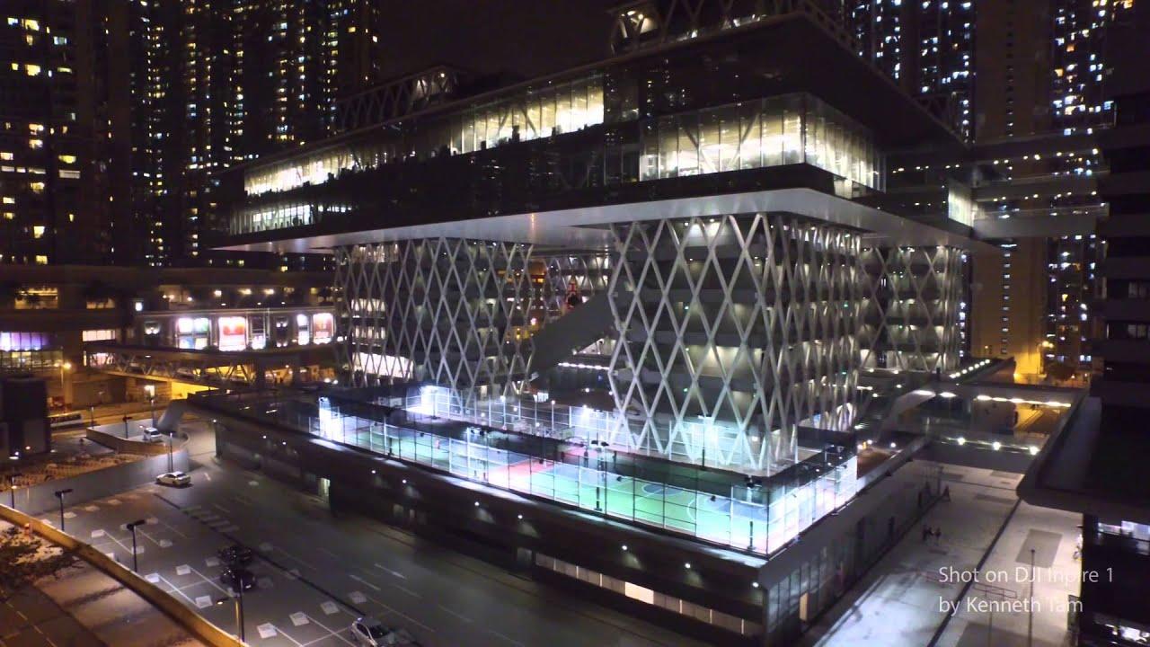 dji inspire 1 aerial view of hong kong design institute tseung