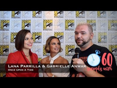 60 Seconds with Lana Parrilla & Gabrielle Anwar