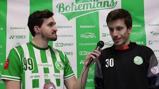 Rozhovor s Tomášem Hyršlem po prohraném zápasu proti Ostravě