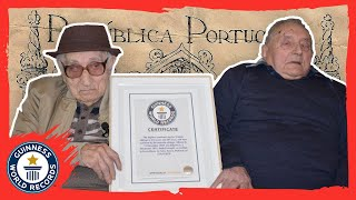 Oldest brothers in the world! - Guinness World Records