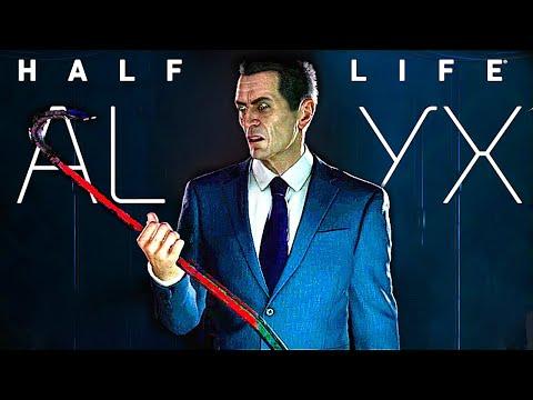 HALF LIFE ALYX All Cutscenes Movie HD