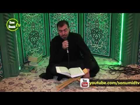 Haci Ruslan Məbəs bayramı ilə bağlı Quran tilaveti