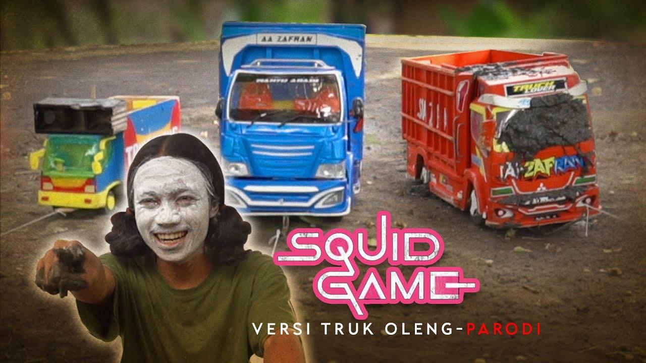 Cerita Truk Oleng Parodiin Squid Game, yang Salah di Lempar Lumpur