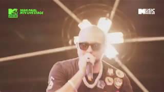 SEAN PAUL - Like Glue  MTV LIVE STAGE 2017