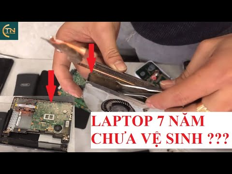 Chiếc Laptop Asus K43 Này đã 7 Năm Chưa Vệ Sinh,vậy Laptop Của Bạn Bao Lâu Vệ Sinh 1 Lần???