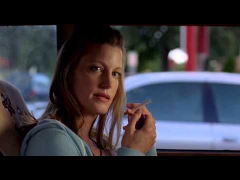 Anna Gunn smoking cigarette