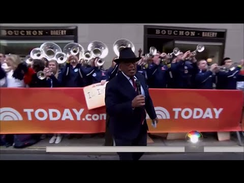 Marching Illini & Cheerleaders on TODAY Show 2/28/18