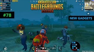 PUBG MOBILE | NEW EXPLOSIVE BULLETS AND MORE GADGETS FUN GAMEPLAY#78