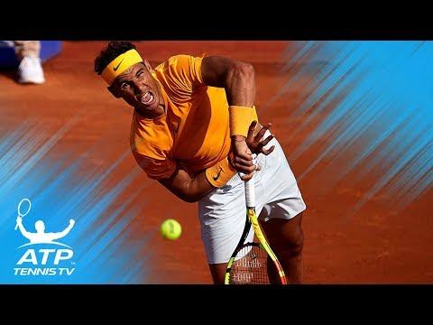 Nadal keeps record; Tsitsipas upsets Thiem | Barcelona Open 2018 Quarter-Final Highlights