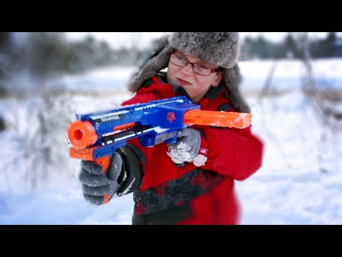 Thumbnail: Nerf War: Winter Attack