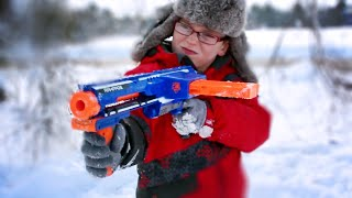 Nerf Winter War