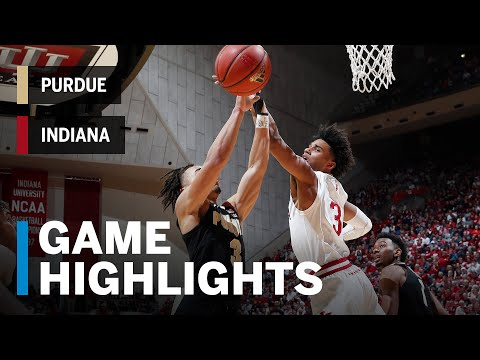 Highlights: Purdue at Indiana | Big Ten Basketball