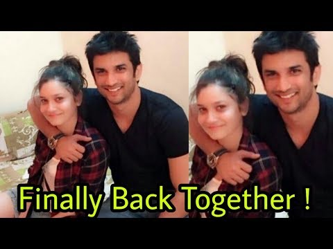Omg !Finally Ankita Lokhande and Sushant Singh Rajput are back together ! Good