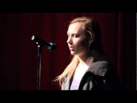 Kathryn Johnson at Bohemia Manor High School Talent Show