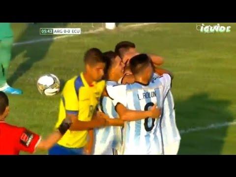 Argentina VS Ecuador Sudamericano Sub 20 2015 Partido Completo
