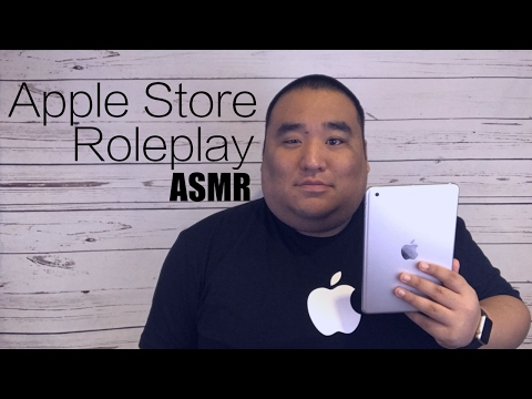 [ASMR] Apple Store Roleplay | MattyTingles