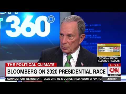 Michael Bloomberg Predicts Trump Will Win Reelection in 2020