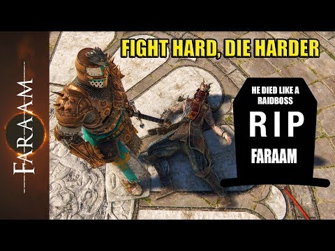 Fight Hard! Die HARDER!! - Be a Raidboss [For Honor]